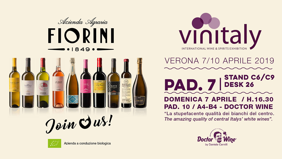 Fiorini At Vinitaly 2019