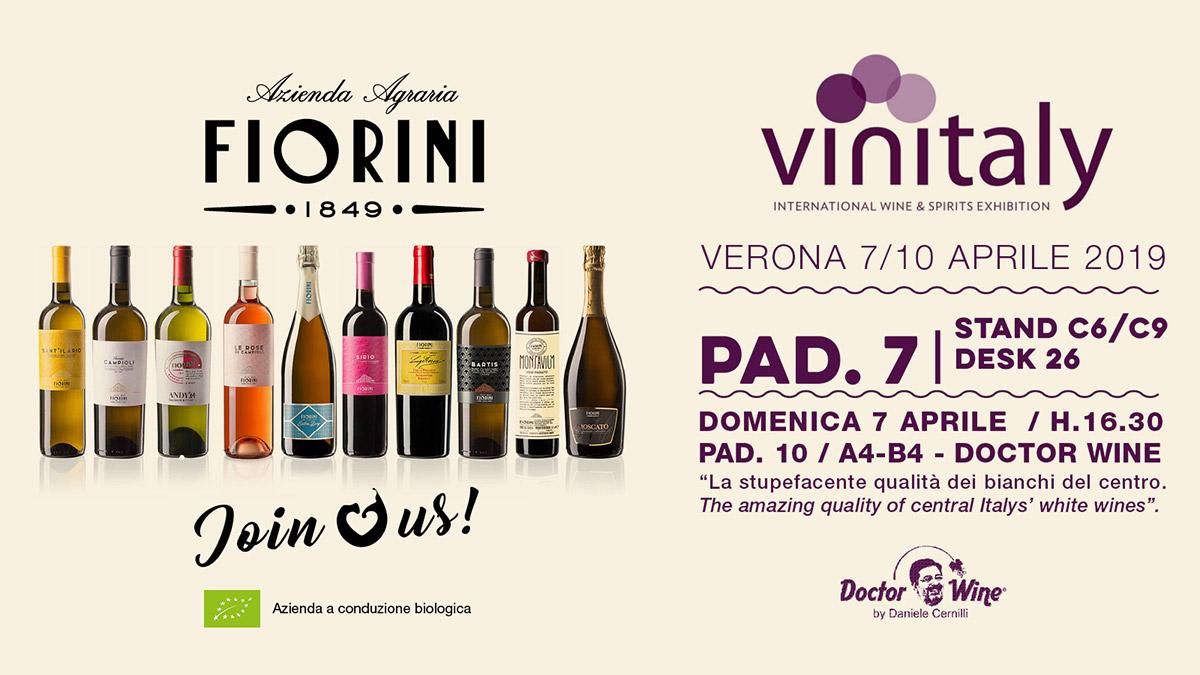 Fiorini At Vinitaly 2019