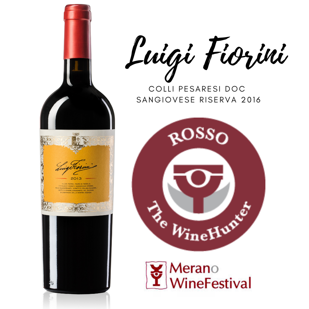 THE WINEHUNTER AWARD 2020 – LUIGI FIORINI 2016